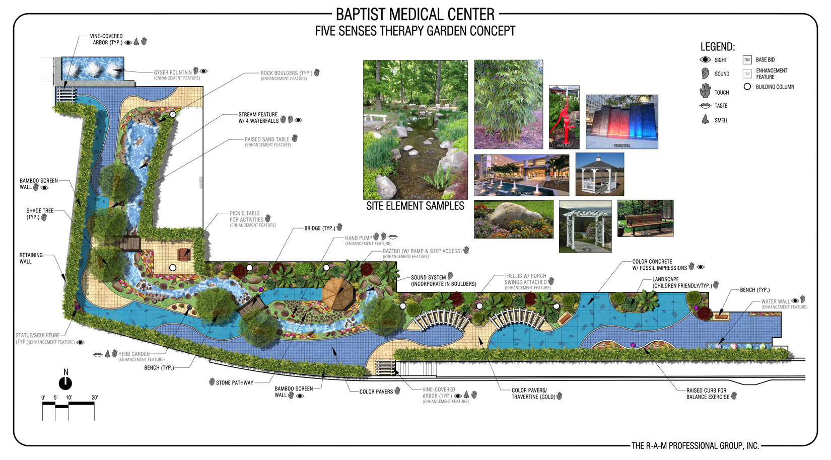Baptist Medical Center (Wolfson Children's Hospital) Therapy Garden
